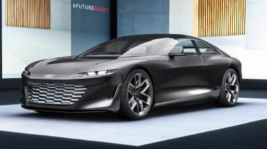 Audi Grandsphere concept - front studio