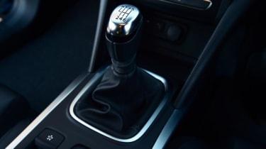 Renault Megane Sport Tourer - gear stick