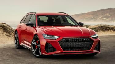 Audi RS 6 Avant - front/side