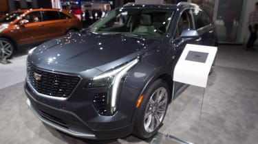 Cadillac XT4 - New York front