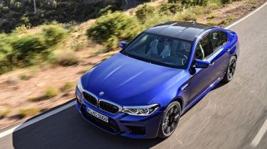 BMW M5 - above