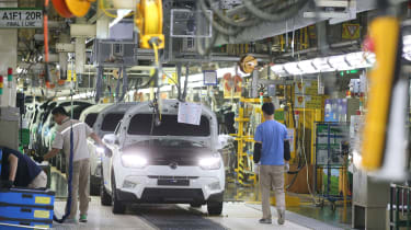 SsangYong factory production line 3