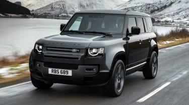 Land Rover Defender 110 V8 - front