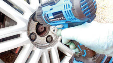 Impact wrenches header