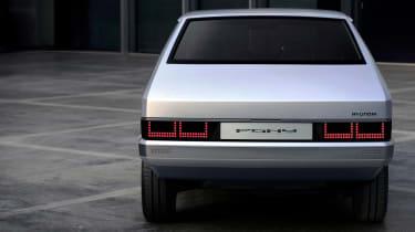 Hyundai Pony - rear