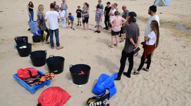 Beach Guardian volunteers