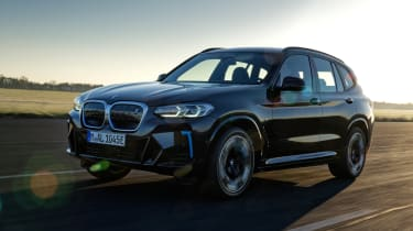 New BMW iX3 2021 facelift front