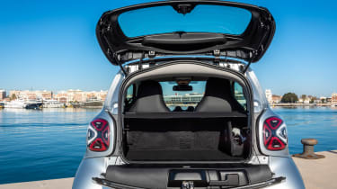 Smart EQ ForTwo - boot open