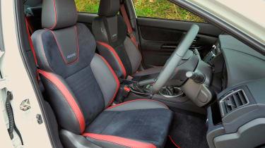 Subaru WRX STI - interior