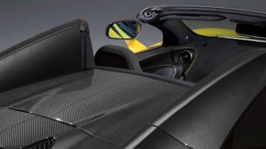 McLaren 570S Spider - roof open