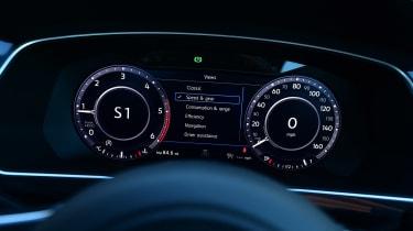 Volkswagen Tiguan - dials