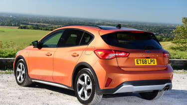 Ford Focus Active - rear static