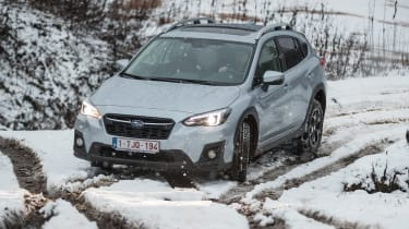 Subaru XV - front cornering off-road
