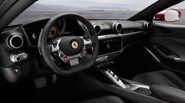 Ferrari Portofino - cockpit