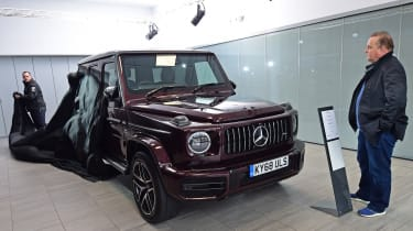 Mercedes-amg g 63 long-termer showroom