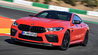 BMW M8 - front action