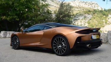 McLaren GT - rear static
