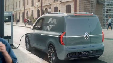 Renault Kangoo ZE Concept - rear static