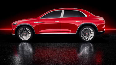 Vision Mercedes-Maybach SUV - studio side