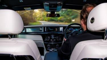 Rolls-Royce Bespoke Audio - driving