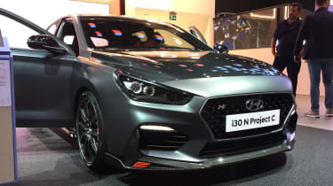 Hyundai i30 N Project C - Frankfurt front static