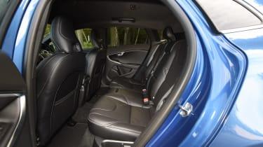 Volvo V40 Polestar Performance Pack - rear seats
