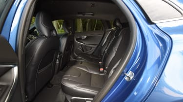 Volvo V40 Polestar Performance Pack - rear seats