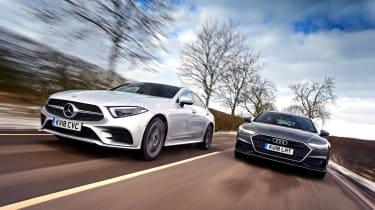 Mercedes CLS vs Audi A7 Sportback - header