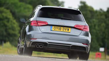 Audi A3 - rear cornering