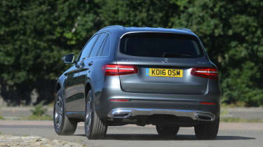 Long-term test review: Mercedes GLC - first report rear cornering