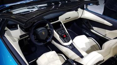 Lamborghini Aventador Roadster - Frankfurt Motor Show interior