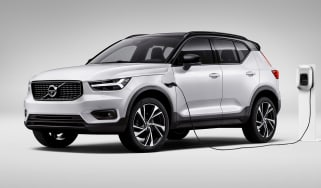 Volvo XC40 - front charging