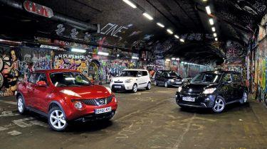 Nissan Juke vs. Rivals