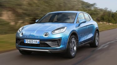 New Alpine SUV exclusive images front