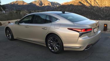 Lexus LS review - rear