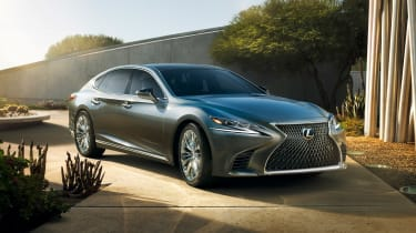Lexus LS official front