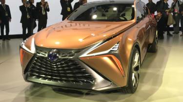 Lexus LF-1 Limitless - front show