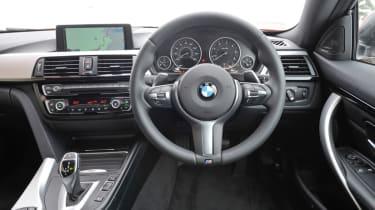 BMW 435d interior