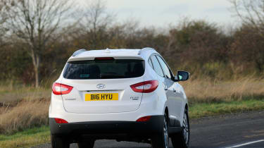 Hyundai ix35 front tracking