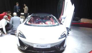 McLaren 570GT - Geneva Stand Shot