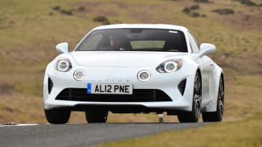 Alpine A110 Pure - front action
