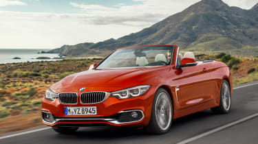 BMW 4 Series facelift 2017 - Convertible front tracking
