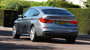 BMW 5 Series GT rear tracking