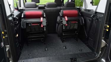 Fiat Doblo 2016 - rearmost seats