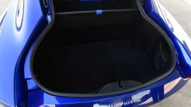 Aston Martin Vantage boot
