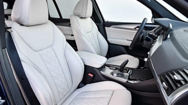 BMW X3 M40i - front seats