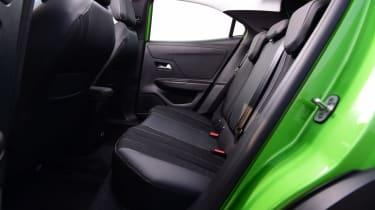 Vauxhall Mokka-e - rear seats