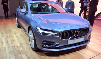 Volvo S90 at Detroit Motor show