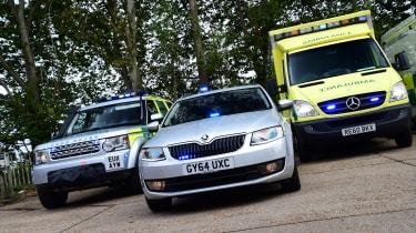Ambulance feature - header