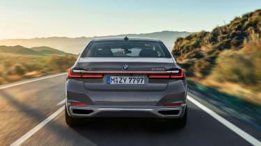 BMW 7 Series facelift - full rear
